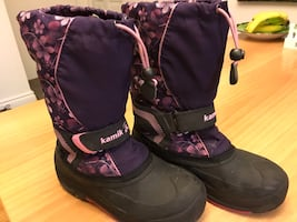 Kamik Insulated Snow Boot Size 5