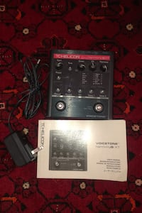 TC-Helicon VoiceTone Harmony-G XT Vocal Effects Pedal Annandale, 22003