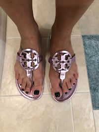 Tory Burch Miller Sandal size 7.5 Riverview, 33578