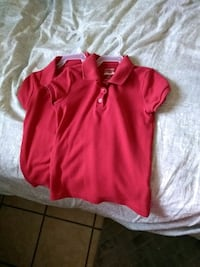 red polo shirts size 6 El Paso