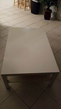 rectangular white wooden coffee table Palm Harbor