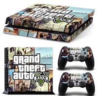 PS4 and Xbox one skins for GTA5 Brampton, L6V
