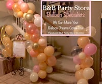 Balloon decorations - anything balloon wise we can create Stockton