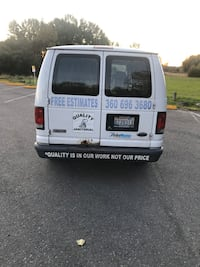 2004 All-Wheel Drive E150 Ford van with carpet shampooing machine. Price is negotiable with respectful offers.
