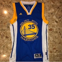 Adidas Golden State Warriors Kevin Durant Jersey Washington, 20032