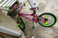 pink and green BMX bike Los Angeles, 90047