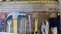 Contracting general contractor  Richmond Hill