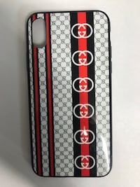 White and black gucci iPhone X case  New York, 11420