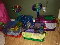 Hamster Cages, tubes, food, bedding and etc Dallas, 30157
