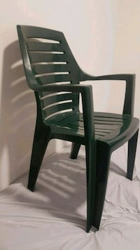Patio hard resin garden chairs 7 for  $100,not s Toronto, M5A 1H4