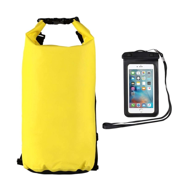 New 20L Waterproof Dry Bag + Smartphone Case