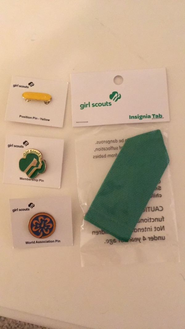 4cfe741b248 Used Girl Scouts Leader tab and pins for sale in Atlanta - letgo