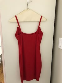 M Boutique Red Dress Hamilton