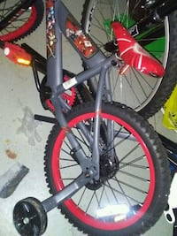 black and red hardtail bike London, N6C 5Z3