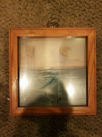 poem in picture frame
