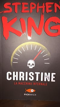 Christine La Macchina Infernale di Stephen King book Naples