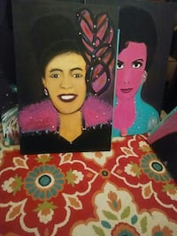 two paintings of jazz singers Pearland, 77581