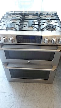 GE Cafe Double GAS Stove | Convection Oven | Stainless Steel | Self Cleaning  $800 San Antonio, 78212