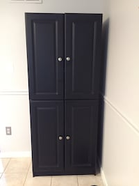 black wooden cabinet with drawer Woodbridge, 22193
