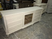 Shabby TV Stand with shelves  Pompano Beach, 33060