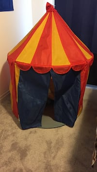 Toddler's red and yellow play tent New Tecumseth