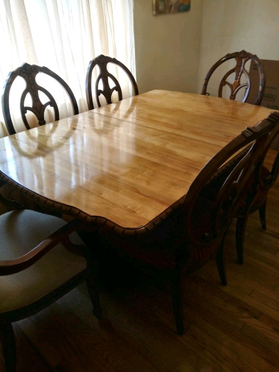 Used Dining Table With Six Chairs For Sale In Bristol   Letgo