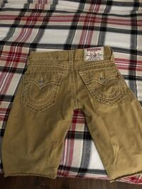 True Religion shorts size 32