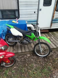 blue and green motocross dirt bike Donaldsonville, 70346