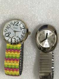 LOTS OF 2 Women's stretch Watches Need Battery  Raleigh, 27610