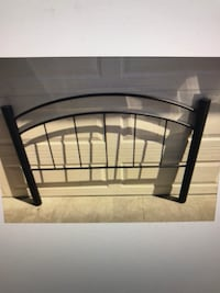 Queen Black Metal Headboard Frame Bed, will Deliver ! Annandale