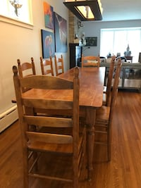 Ladder back Shake Dining Room Chairs - Solid Maple