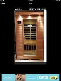 Infrared sauna 2 to 3 person Innisfil, L9S 0A5