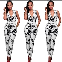 Bandage Bodycon Jumpsuit  Chicago, 60619