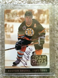Hockey cards - 1993 Adam Oats autograph  Mooresville, 28115