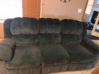 Couch - good condition, has recliners.