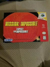 Nintendo 64 mission impossible box only Mississauga, L4W 4A1