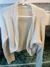 women's white cardigan 14-16 Kingsport