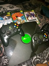 Xbox console,2controllers,2games of your choice Porter, 77365