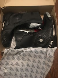 TCS Motorcycle Boots Men's Size 12