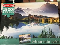 1500 pc Mountain lakes puzzle Barrie