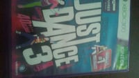 Just Dance 3 for XBOX 360 Kinect Greenville, 27858