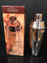 Stainless Steel Cocktail Shaker Vaughan, L4L