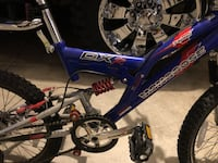 Blue and white full-suspension bike Oxnard, 93036