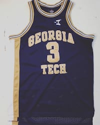 GEORGIA TECH Marbury Jersey Size SMALL MENS Vancouver, V5L 3C9
