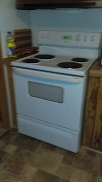 white and black electric coil range oven Silver Spring
