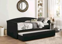Black Trundle Bed Silver Spring