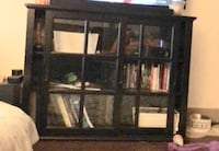 Black wooden tv hutch  Broomfield, 80021