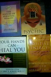 Lot of 4 Books -The Mature of Personal Reality Stone Mountain, 30083