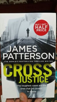 JAMES PATTERSON-CROSS JUSTICE.