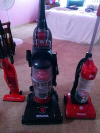 Vacuums _____ black one sold Merrillville